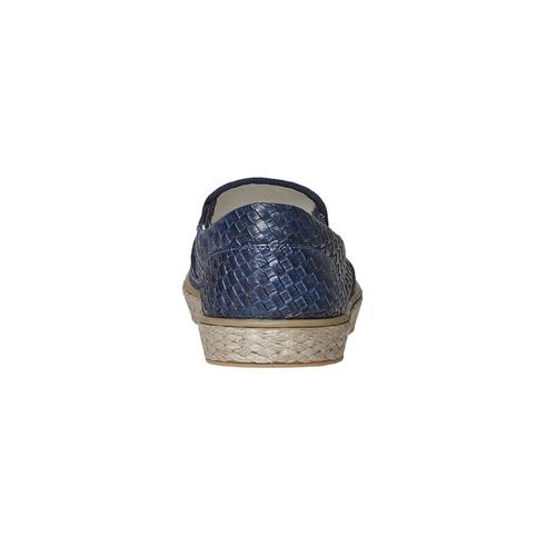 Slip-on da uomo north-star, blu, 851-9316 - 17