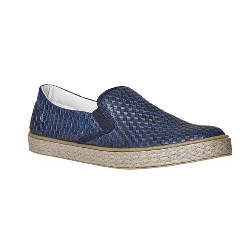 Slip-on da uomo north-star, blu, 851-9316 - 13