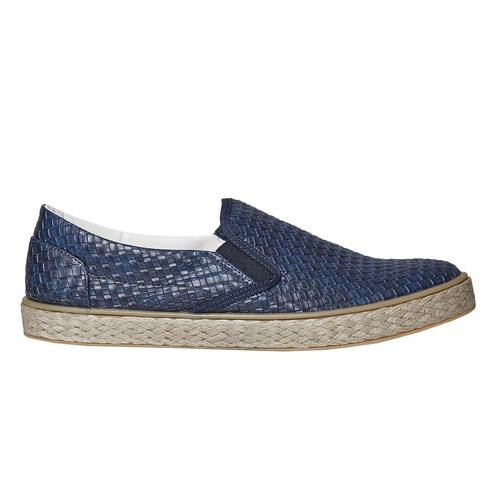 Slip-on da uomo north-star, blu, 851-9316 - 15