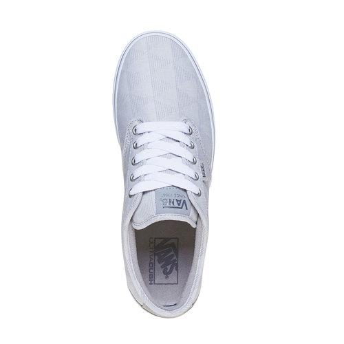 Sneakers casual da uomo vans, grigio, 889-2199 - 19