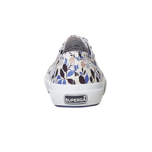 Sneakers casual da donna con motivo superga, viola, 589-9987 - 17
