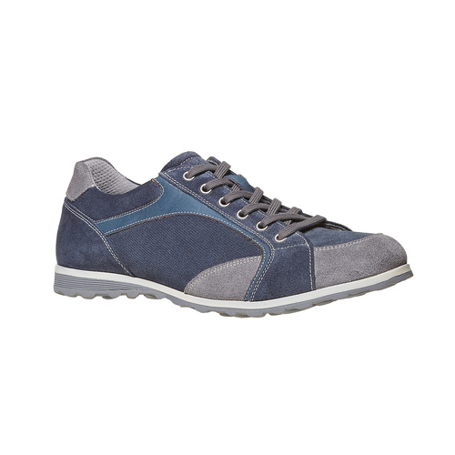 Sneakers casual da uomo bata, blu, 843-9295 - 13
