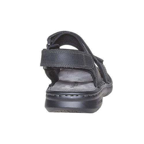 Sandali in pelle da uomo weinbrenner, nero, 866-6269 - 17