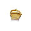Slip-on gialle da donna con strass bata, giallo, 569-8413 - 17