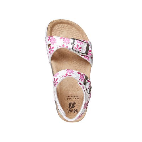 Sandali da bambina con motivo mini-b, rosa, 261-1185 - 19