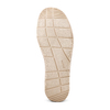 Stringate in canvas bata, beige, 859-2280 - 19
