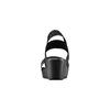 Sandali con fasce elastiche bata, nero, 779-6102 - 15