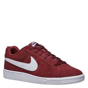 Sneakers da uomo in pelle nike, rosso, 803-5148 - 13