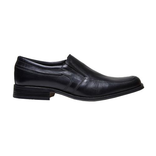 Loafer in pelle da uomo, nero, 814-6168 - 15