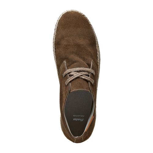 Desert Boots in pelle bata, verde, 853-7321 - 19