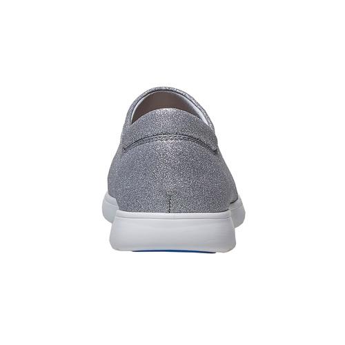 Sneakers argentate da donna bata, argento, 519-1335 - 17