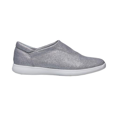 Sneakers argentate da donna bata, argento, 519-1335 - 15