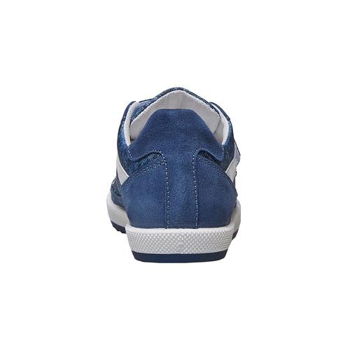 Sneakers da bambino con chiusure a velcro flexible, blu, 311-9244 - 16