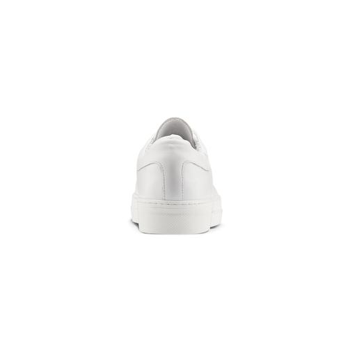 Sneakers bianche con lacci in raso north-star, bianco, 544-1359 - 16
