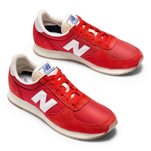 New Balance 220 da uomo new-balance, rosso, 809-5320 - 19