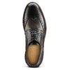 Scarpe stringate bicolore bata-the-shoemaker, nero, 824-6186 - 15