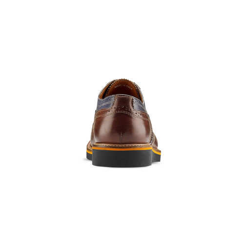 Stringate Oxford di pelle bata-the-shoemaker, marrone, 824-5215 - 16