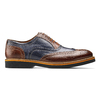 Stringate Oxford di pelle bata-the-shoemaker, marrone, 824-5215 - 26