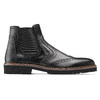 Chelsea boots in pelle bata-the-shoemaker, nero, 894-6735 - 26