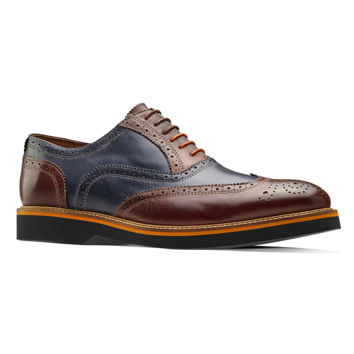 Stringate Oxford di pelle bata-the-shoemaker, marrone, 824-5215 - 13