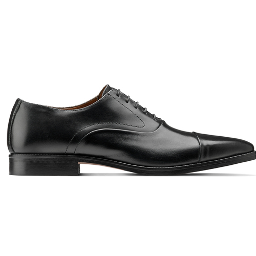 Scarpe Derby in vera pelle bata-the-shoemaker, nero, 824-6178 - 26