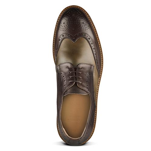 Stringate Derby in pelle bata-the-shoemaker, marrone, 824-4186 - 15
