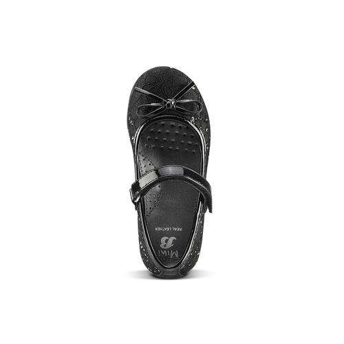 Ballerine nere in pizzo mini-b, nero, 229-6198 - 15