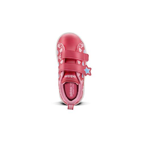 Scarpe Adidas da bimba adidas, rosso, 101-5533 - 15