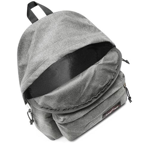 Zaino in tessuto di colore grigio eastpack, grigio, 999-6647 - 16