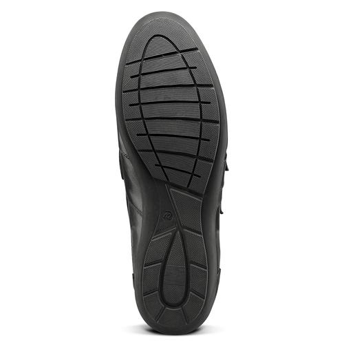 Scarpe con strappi da uomo bata, nero, 844-6729 - 17