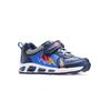 Scarpe basse con luci mini-b, blu, 211-9183 - 13