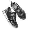 Sneakers metallizzate con strap mini-b, nero, 329-6295 - 19