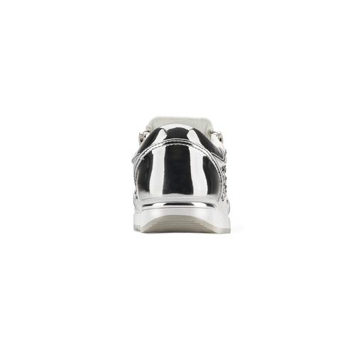 Scarpe da ginnastica con strass mini-b, bianco, 329-1289 - 16