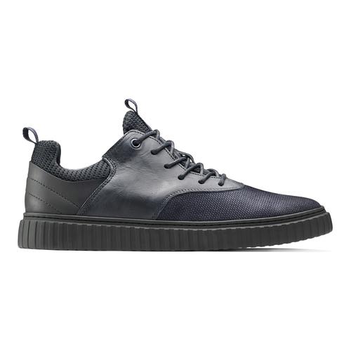 Sneakers con lacci da uomo bata, blu, 843-9119 - 26