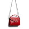 Borsa rossa con manico e tracolla bata, rosso, 961-5172 - 17