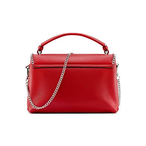 Borsa rossa con manico e tracolla bata, rosso, 961-5172 - 26