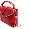 Borsa rossa con manico e tracolla bata, rosso, 961-5172 - 15