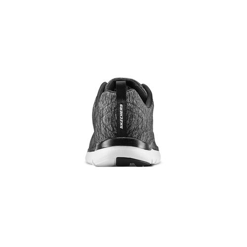 Skechers donna skechers, nero, 509-6322 - 16