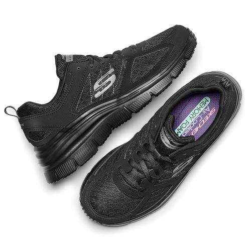Scarpe Skechers da donna skechers, nero, 509-6321 - 19