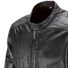 Giacca maschile in pelle bata, nero, 974-6171 - 15