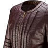 Giacca burgundy in similpelle da donna bata, rosso, 971-5204 - 15