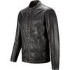 Giacca maschile in pelle bata, nero, 974-6171 - 16