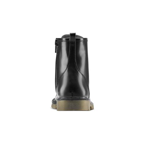 Stivaletti con lacci mini-b, nero, 391-6407 - 16