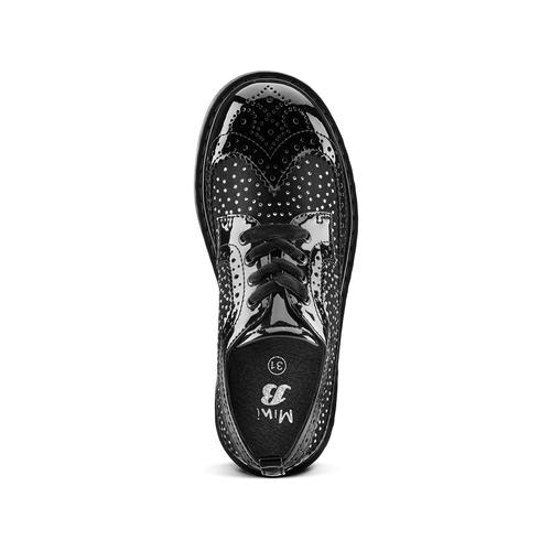 Scarpe basse con strass mini-b, nero, 321-6290 - 15