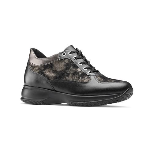 Scarpe con intarsi laminati bata, nero, 524-6663 - 13