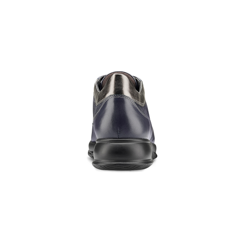Scarpe comfort viola bata, blu, 524-9663 - 16