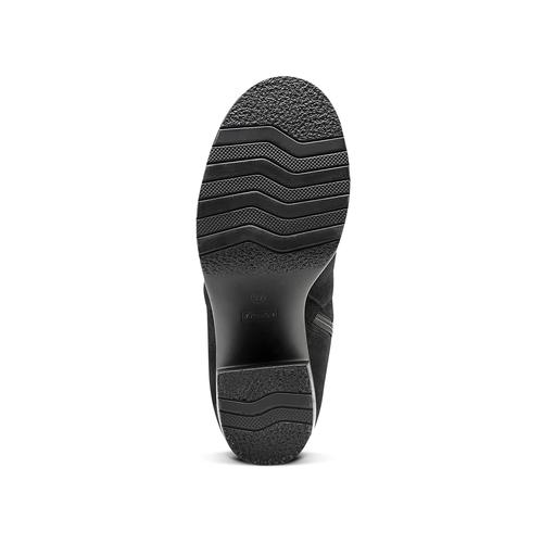 Stivali oversize bata, nero, 799-6660 - 17