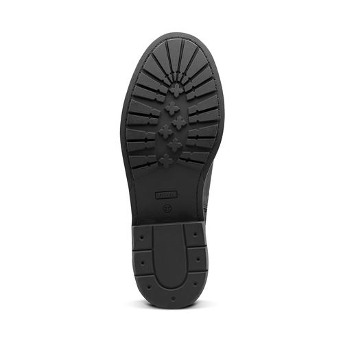Stivaletti alla caviglia con ganci bata, nero, 591-6155 - 17