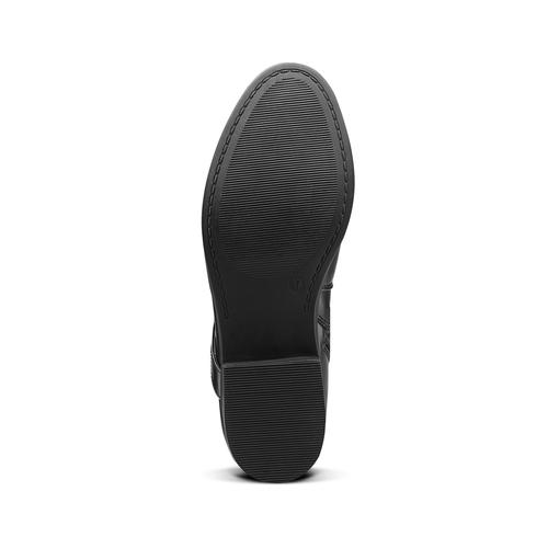 Stivaletto con cinturino incrociato bata, nero, 591-6297 - 17