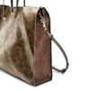 Shopper con borsello e nappina bata, oro, 961-8200 - 15